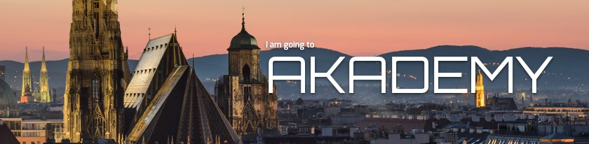 I am Going to Akademy Banner
